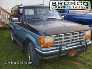 My 1989 ford bronco ii xlt 4x4