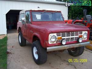 1972 early bronco
