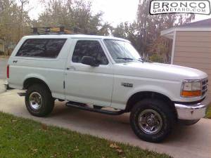 Merridith's new bronco