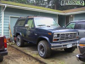 1985 rollalong bronco