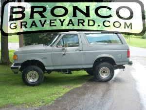 The new bronco