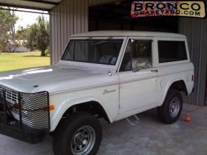 My 1977 bronco