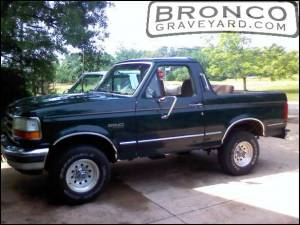 My bronco with top off