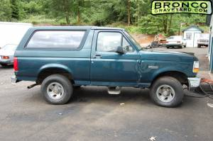 First bronco