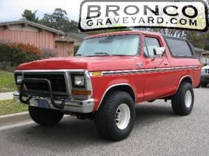 1978 bronco  400ci w std