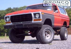 "Bb-78 cummins bronco - ""war horse"""