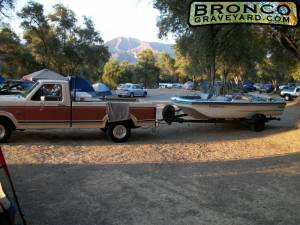 Camping with betsey - (my truck)