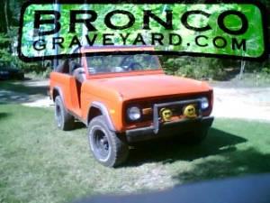 77 bronco sport ranger