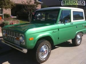 Green bronco