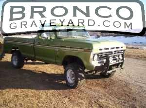 1975 ford 460 4 speed 4x4
