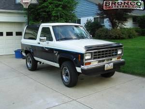 1986 Bronco II