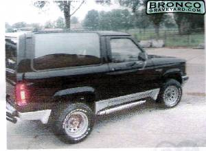 Bronco ii 1990 on 1984 chassis