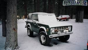 Brionco in snow