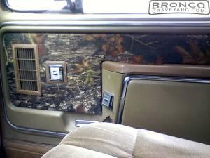 Door panels i reupholstered