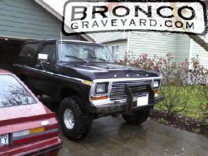 78 ford bronco