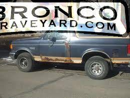 91 ford bronco