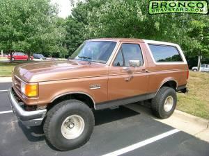 1987 bronco 351w eb pkg