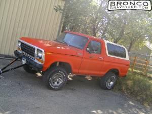 My '79 bronc