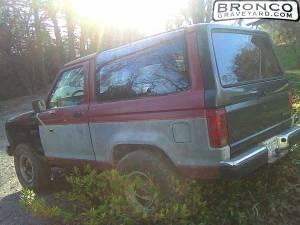 My 1986 bronco ii