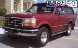 95 bronco red
