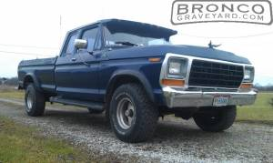 1978 ford f-150 4x4 supercab