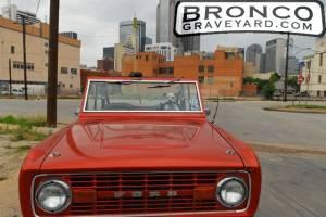 "1977 bronco ""rocky"""