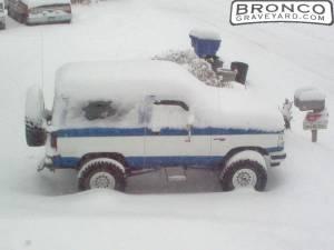 1989 BRONCO II XLT 4x4