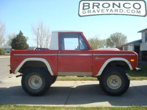 1974 converted 1/2 cab bronco
