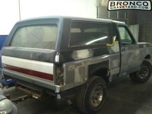 88' bronco restore
