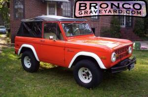 1972 bronco pre-purchase