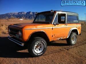 1969 bronco wip