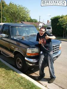 First car 96 ford bronco
