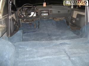 Fresh new carpet