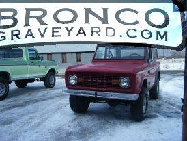 The red bronco
