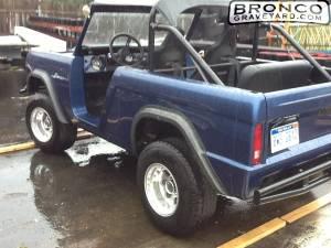 Blue bronco