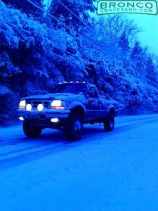 Playin in the snow