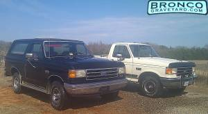 My 89 bronco and 87 f-150