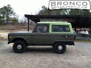 1974 bronco before resto