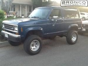 My 87 bronco 2