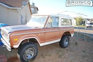 1974 bronco ranger