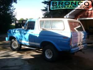 Greg's 1978 Bronco
