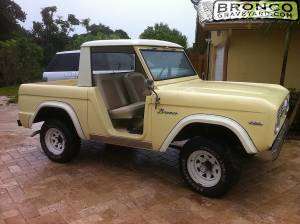 My 1966 ford bronco