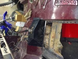 72 floorboard resto with 3 speed conversion