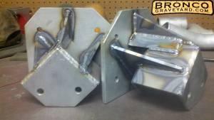 Shackle flip hangers