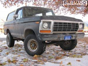1978 bronco custom