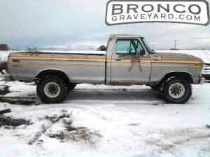 1978 f250 ranger-explorer-camper special