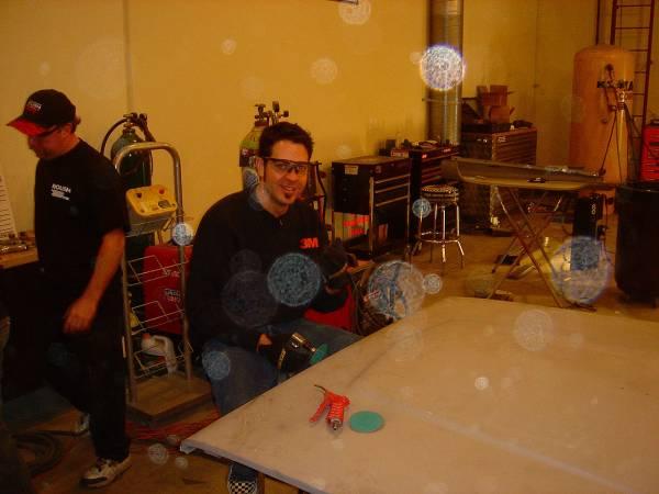 Brian welding