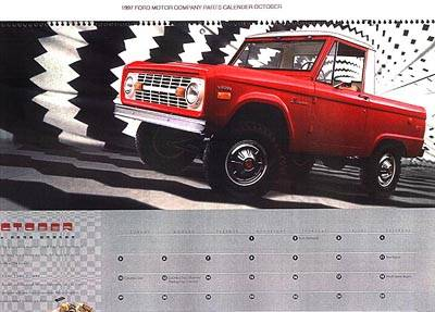 Featured in Fords 1997 Calendar