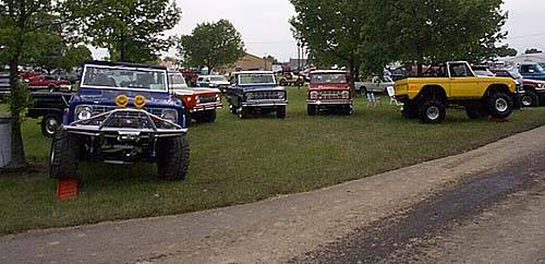 JBG Trucks at the Lima Jamboree