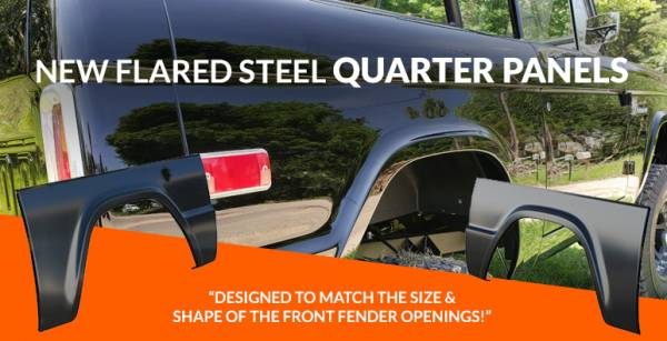 Flared Quarter Panels